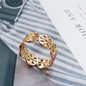 Tory Burch Hollow Simple Wild Ring
